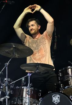 Daniel Platzman of Imagine Dragons Imagine Dragons, Kari Jobe, Florence Welch, Pentatonix, Top Ten Songs, Wayne Sermon, Dan Reynolds, My Favorite Music, Hot Men