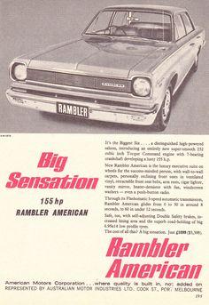 https://flic.kr/p/f7THqe | '66-7 Rambler American AMC (Aussie)