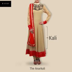 The #Anarkali, which originated in the Mughal era is still a classic favorite.