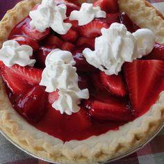 Summer Time Strawberry Pie