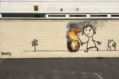 Banksy surprises everyone by making this creation on her primary school..