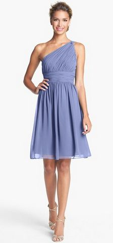 a gorgeous bridesmaid dress. so many pretty colors to choose from!