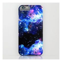 Galaxy iPhone & iPod Case ($35) ❤ liked on Polyvore