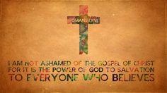 Romans 1:16 Wallpaper by Xiphos71