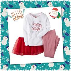 Bu Yeni Yılda Minikler Çok Şık   Carter's 3 Parça Pijama Takımı- Christmas 7400 TL (12-18 Ay)  #yeniyıl #yılbaşı #yılbaşıözel