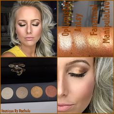 Pumpkin Spice inspired Younique makeup look using colors from the new Quad Customizable Palette that will be available for purchase on Sept. 1st. You will receive the palette and 4 eyeshadows of your choice. These colors are rich in Pigment and perfect for Fall! Find me on Facebook at Younique By Rachele (Rachele Lantz)