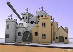 Imagem intitulada Make a Model Castle Step 6