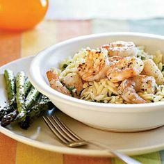 Lemon Pepper Shrimp Scampi | CookingLight.com