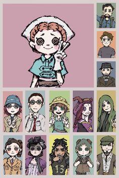 V Cute, Cute Art, Identity Art, Coraline, Painting For Kids, Kawaii Anime, Horror, Character Design, Geek Stuff