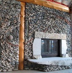 Funny pictures about Beautiful Stonework Fireplace. Oh, and cool pics about Beautiful Stonework Fireplace. Also, Beautiful Stonework Fireplace photos. Brick And Stone, Stone Work, Stone Walls, Fireplace Wall, Fireplace Design, Mosaic Fireplace, River Rock Fireplaces, Rock Wall, Ancient Art