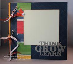 Back To School Mini Book: Artbooking Cricut Cartridge