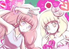 Twinkle/Kirara and Peace/Yayoi