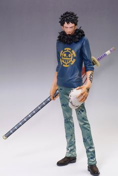 Trafalgar Law - Banpresto One Piece Master Stars Piece Model One, Figure Model, Anime One Piece, Puff Girl, Anime Figurines, Anime Toys, Trafalgar Law, Anime Merchandise, Dress With Boots
