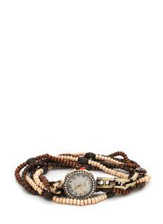 wraparound bead watch $27.95