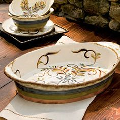 Gail Pittman Alfresco Server From Willow House On Sale For