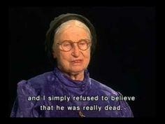 Holocaust Survivor Testimony: Ester Samuel-Cahn -On  3/12/42 Ester's family & 30 other Jews were hidden on two trucks bound for safety in Sweden. Watch her testimony