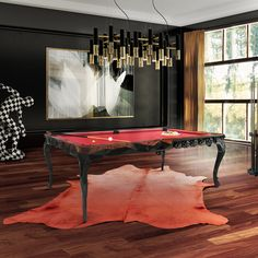 Royal Snooker Table by Boca do Lobo | Interior Design, Luxury Furniture, Snooker Tables, Luxury Lifestyle. For More News: http://www.bocadolobo.com/en/news-and-events/