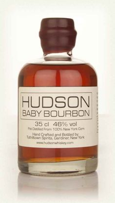 Hudson Baby Bourbon-one of the bottles in my Christmas 2016 haul.  (Year 16, Batch 11, Bottle 2705)