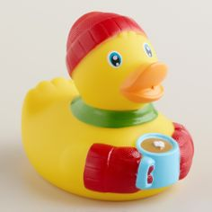Cozy Rubber Duck Bath Toy | World Market