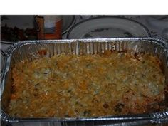 Sour Cream and Ground Beef Layered Casserole