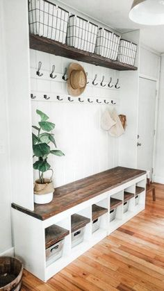 Wall and standing coat racks ideas for rustic and modern farmhouse or scandinavian or bohemian entryway ab gray and rough on behance Home Renovation, Home Remodeling, Mudroom Laundry Room, First Home, House Rooms, Home Decor Inspiration, Decor Ideas, Home Organization, My Dream Home