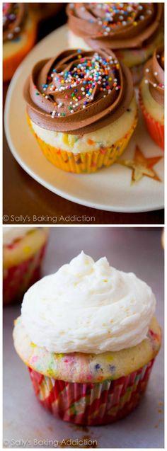 funfetti cupcake recipe!