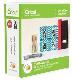 Cricut® Days And Dates Cartridge