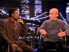 awesome George Carlin   Chris Rock Show