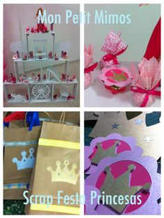 Mon Petit Mimos-: Scrap Festa Princesas