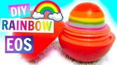 DIY Rainbow EOS | How to Make EOS Lip Balm