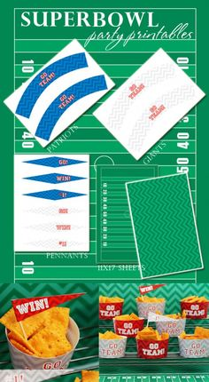 Free Football Printables for the Super Bowl
