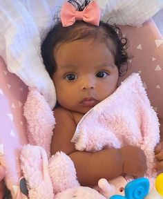 Cute Mixed Babies, Cute Black Babies, Black Baby Girls, Beautiful Black Babies, Beautiful Children, Brown Babies, Adorable Babies, Baby Momma, Lil Baby