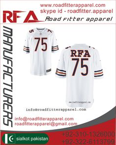American Football Uniform  Custom Sublimation or Panel Work Made of 100% polyester Heavy Fabric poly/Spandex 86/14 gsm/350 ( Screen Printing / Tekal  Twill Embroidery)  Price: $18.35 http://www.roadfitterapparel.com                                                                                        info@roadfitterapparel.com