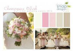 champagne blush weddings - Google Search