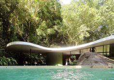 Oscar Niemeyer, 1907-2012. Casa das Canoas, 1952, Rio de Janeiro, RJ, Brasil.
