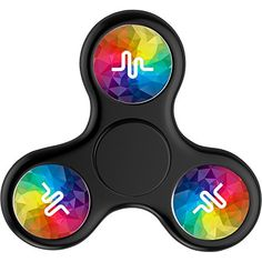Cheap price 4Fun-For Fidget Spinner Musical.ly Logos Tri-Spinner High Speed Spin on sale