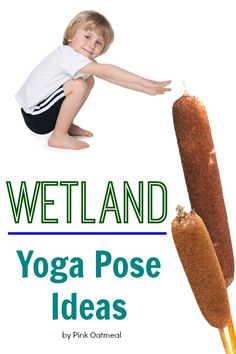 Wetland themed yoga to help get the wiggles out! Incorporate movement with learning. Themed yoga is so much fun! Perfect to use with a habitat unit!
