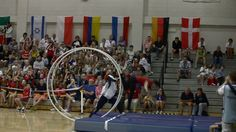 WC 2013 in Wheel Gymnastics Team Final Japan Vault 1 Tamura Motonobu