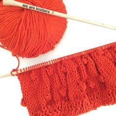 SabrinaSweater de #weareknitters con algodón naranja #knit #knitting #knittingisthenewyoga #instaknit #wool #tejer #tejermola #handknitted #handmade #diy #yesweknit #wak #iknit #cotton #algodon #wakstyle