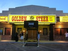 Las Vegas' oldest steakhouse, Golden Steer opened in