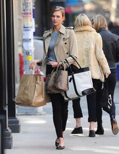 Karlie Kloss- TIMELESS TRENCHES http://markdsikes.com/2014/04/10/timeless-trenches/