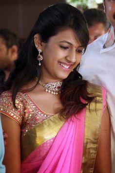 Ameesha Patel Hot Bikini Stills in Maxim Hot Actresses, Indian Actresses, Pink Half Sarees, Indian Jewellery Design, Jewellery Designs, Bridal Jewellery, Indian Textiles, Cute Girl Photo, Beauty Full Girl