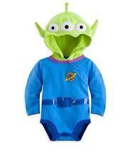 NEW Disney Store Toy Story Alien Infant Baby Costume Bodysuit 18-24