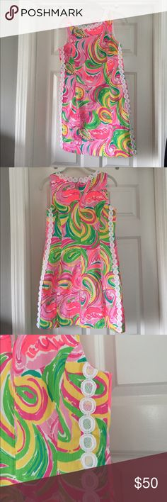 Lilly Pulitzer size 6 dress EUC dress worn a few times Lilly Pulitzer Dresses Mini