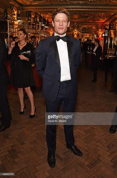James Norton attends the Royal Marines Boxing Bout at Cafe Royal in celebration of their 150th Anniversary on November 24, 2015 in London, England.