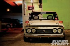 1972 Toyota Hilux Pickup - Ink-Redible Power - Super Street Magazine