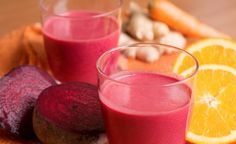 Hier finden Sie ein veganes Rezept für die Zubereitung von Rote Bete Orangen-Proteinshake. Blutdrucksenkend, entzündungshemmend und gesund für Ihre Augen.