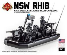 Brickmania - NSW RHIB - Naval Special Warfare Rigid Hull Inflatable Boat, $99.00…