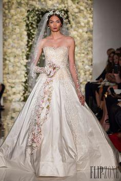 Reem Acra Outono-Inverno 2015-2016 - Nupcial - http://pt.flip-zone.com/fashion/bridal/the-bride/reem-acra-5468