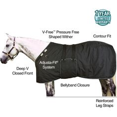 TEKNO-FLEECE® Bellyband Lightweight Stable Blanket